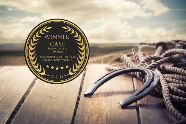 Cowgirl Candace wins Southeast writing awards