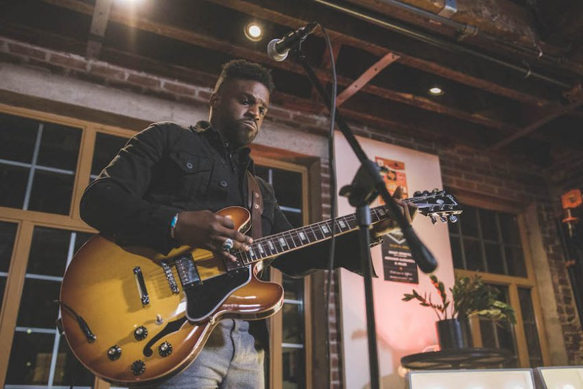 Southern-born, London-signed crooner's music advice to Atlanta artists