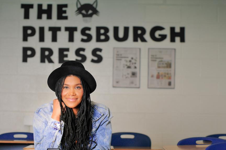 Pipelining underserved urban youth into neighborhood newspapers