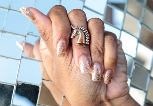 Firework Fingernails