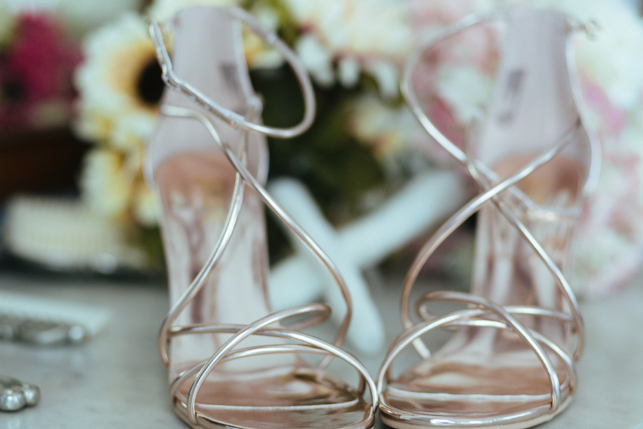 Brash Bridal Sandals